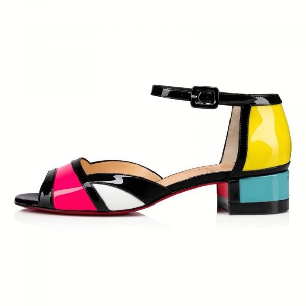Christian Louboutin Mondiri 30 Multicolor Sandals