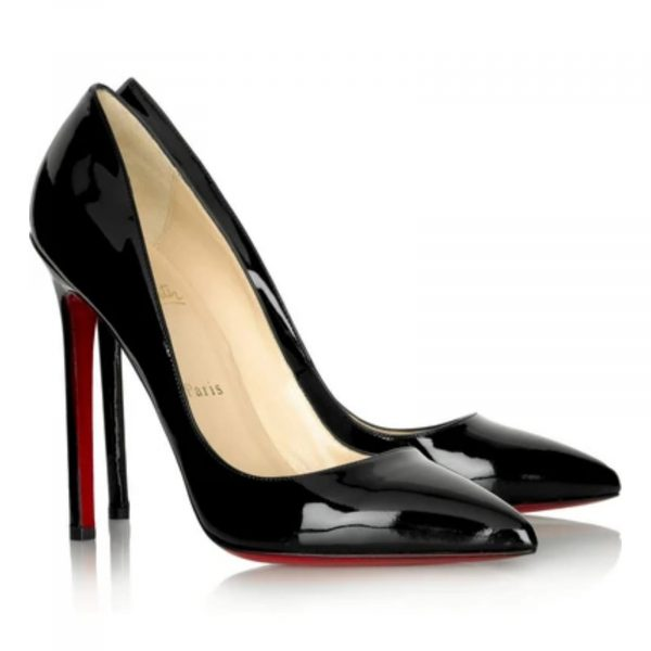 Christian Louboutin Pigalle 120 Black Patent leather